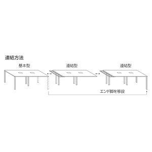 ライオン事務器マルチワークテーブルスクエアテーブル型基本型イトラムW1200×D1200×H720mmITL-1212K