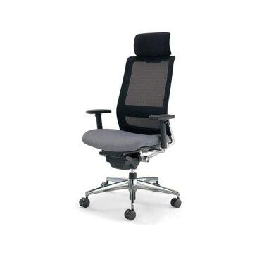コクヨ(KOKUYO) オフィスチェア エクストラハイバック AIRFORT(エアフォート) CR-GA2343 [事務用チェア オフィス用品 オフィス用 オフィス家具 チェア 椅子 イス 事務椅子 デスクチェア パソコンチェア スタンダード 高機能]