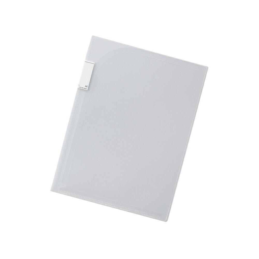 【メール便なら送料240円】リヒトラブ Avanti 2ポケットホルダー F-3410-1乳白 A4 収納枚数:コピー用紙30枚