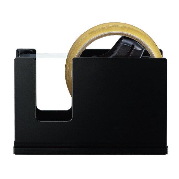 コクヨ テープカッターカルカットスチールタイプ黒 T-SM111D