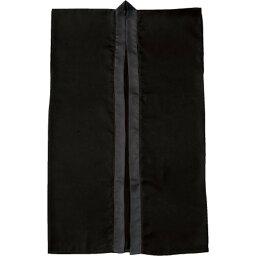 Artec(アーテック) サテンロングハッピ 黒 S(ハチマキ付) #1146