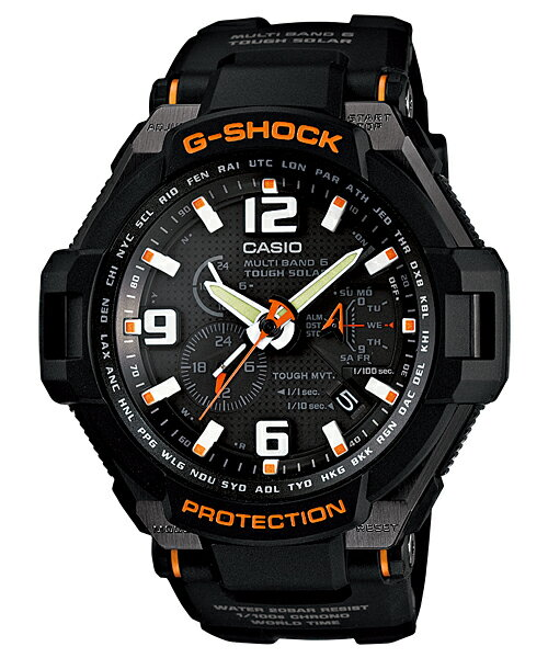 腕時計, メンズ腕時計 CASIO G-SHOCK( G)SKY COCKPIT TRIPLE G RESIST GW-4000-1AJF GMULTI BAND 6 RCP