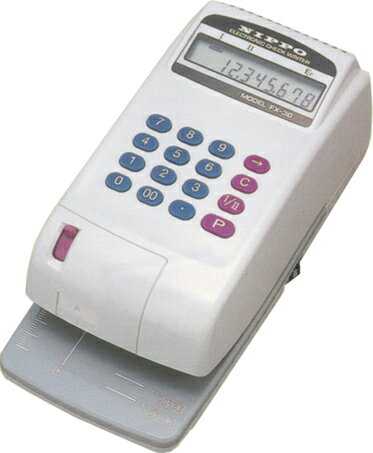 NIPPO<ニッポー> 電子チェックライター FX-30 送料無料キャンペーン中