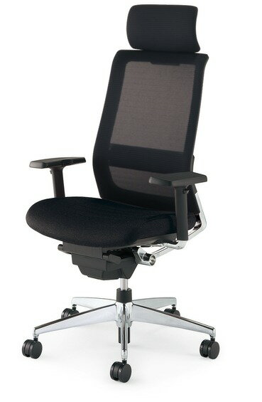 コクヨ<KOKUYO> Advanced Chair(次世代OAチェア) AIRFORT<エアフォート> 「エアランバーサポート搭載」 ヘッドレスト付きタイプ 可動肘 CR-GA2353□-W・V 【RCP】:オフィスランド