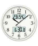 カシオ(CASIO) 壁掛け時計 パールシルバー 電波時計 ITM-660NJ-8JF 【RCP】
