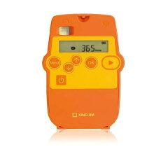 キングジム インターバルレコーダー 「レコロ」 IR5 オレンジ