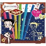 【メール便なら送料120円】トンボ鉛筆 プレイカラーKスペシャル6色セット ベティ・ブ?プBセット WS-PKSP6C17B