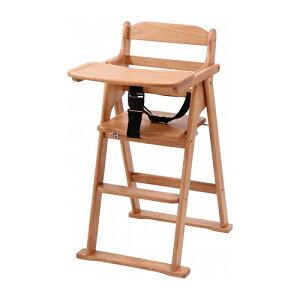 木製折り畳みベビーチェアー幅500奥行345高さ650mmナチュラルブラウン不二貿易チェア椅子いすイス北欧おしゃれ木木製ウッドキッズFB-17332FB-17333