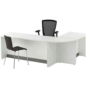 木製ベーシック・ローカウンター 幅1500×奥行600×高さ700mm ホワイト ナチュラル RFヤマカワ ローカウンター カウンターテーブル 受付テーブル ハイカウンター ハイカウンターテーブル 1433120