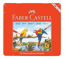 【42%OFF】【筆付き】FABER-CASTELL(ファーバーカステル) 水彩色鉛筆 24色セット TFC-WCP/...