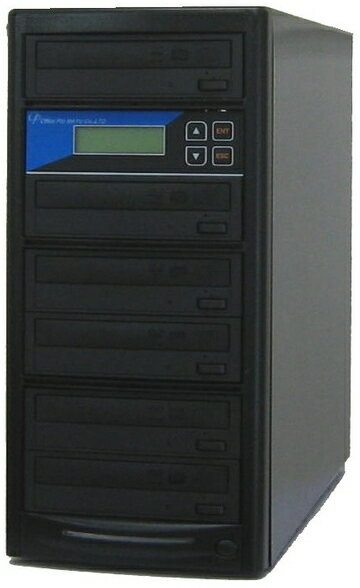 DVDデュプリケーター ローエンドモデル(オフィスモデル) 1:5 デュプリケーター専用マルチドライブ搭載:オフィスプロMAYU