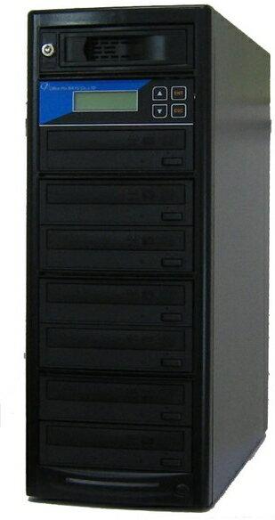 DVDデュプリケーター HDD搭載 ローエンドモデル(オフィスモデル) 1:7 デュプリケーター専用マルチドライブ搭載:オフィスプロMAYU