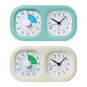 トキ・サポ 時っ感タイマー 時計プラス 色で時間の経過を実感【ソニック】LV-3521-□※2色よりお選びください。