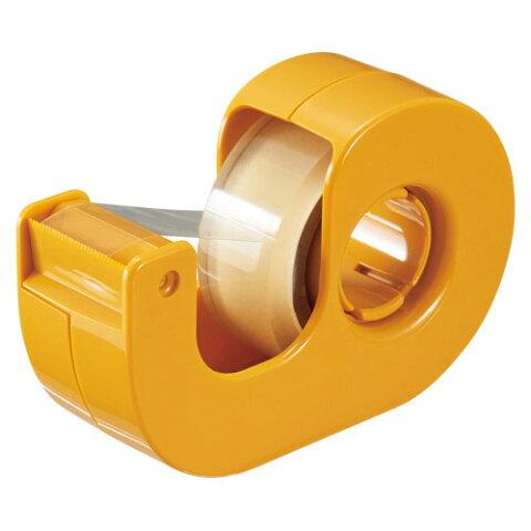 セロテープ 小巻カッターつきまっすぐ切れるタイプテープ幅15mm【ニチバン】CT-15DCY