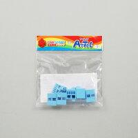 【ゆうパケット対応可】Artecブロック・知育玩具 三角A 8P 水