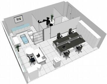 【送料無料】【smtb-TK】【エグゼクティブ】SOHO家具パッケージ・60平米(4人用) 広めのデスクでゆったりと【YDKG-tk】【fsp2124】【fs2gm】【RCP】【fs3gm】