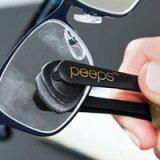 【ピープス peeps】 メガネ拭き メガネ用カーボンクリーナー
