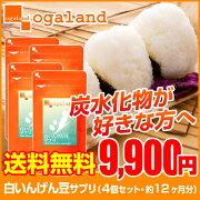 いんげん豆 オーガランド サプリメント 炭水化物 ファビノール