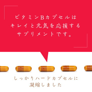 ビタミンB カプセル(約6ヶ月分)送料無料 葉酸 ビタミンM ビタミンB群 イノシトール 配合 ビタミン サプリ サプリメント 健康 ダイエット 通販 大容量 福袋 【M】 【半年分】 _JB_JH_ZRB
