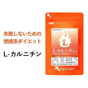 L-カルニチン(約1ヶ月分)送料無料 サプリ サプリメント 燃焼系 ダイエット Lカルニチン 配合。 BCAA アミノ酸 や α-リポ酸 や コエンザイムQ10 と併用◎ l-カルニチンフマル酸塩 オーガランド 口コミ 評判 低価格 【M】 _JB_JD_JH