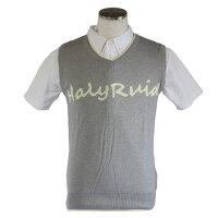 ハリールイド(HALYRUID)胸ロゴニットベストメンズ