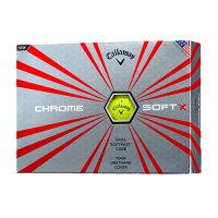 キャロウェイ(Callaway)CHROMESOFTX(クロムソフトエックス)2017年モデルゴルフボール1ダース12球入り2017年日本正規品