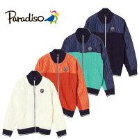パラディーゾ(Paradiso)メンズ長袖前開きコンビネーションブルゾン2016秋冬メンズ