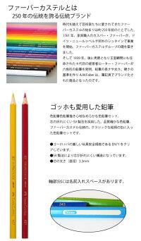 到着後レビュー記載で送料無料★ファーバーカステル色鉛筆36色セットドイツ製/TFC-CP/36C