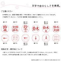 【リールキー付】ジョインティJ9ハンコゴム印回転式【送料無料】