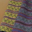 ウール【86890】【柄物】【送料無料】【ウール生地】カラー全2色【一反単位の販売】【ウールジャガード】86890 ☆ジャケットやベスト、コートやポンチョなどに最適☆カバン、インテリアなど小物にも