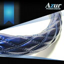 [Azur アズール] ハンドルカバー 三菱 ミニカ エナメルネイビー Sサイズ(外径約36〜37cm) XS54D24A-S-025