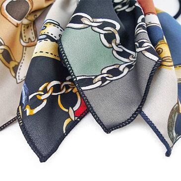 【SALE】スカーフ柄リボンヘアゴム