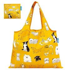 【メール便のみ送料無料】ショッピングバッグ「うちのこかわいい」折りたたみエコバッグ