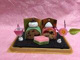 ひな祭り雛人形ケーキ