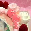 写真ケーキ スイートハート ケーキ バースデーケーキ お誕生日 パーティー 記念日 サプライズ 6号 3