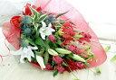 おまかせだからこの価格でボリューム抜群♪当日発送可能♪季節のお花の組み合わせの花束。平日...