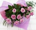 パープルローズ 紫バラ 10本の花束 誕生日 女性 送別 歓迎 退職祝い 母 誕生日 母の日 お母さんへのプレゼント Mothersday 2019 祝い 送料無料