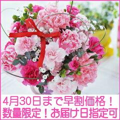 母の日当日お届け日指定もOK!嬉しいおまけ付!選べるカラー♪赤・ピンク・イエロー&オレンジ...