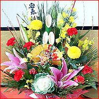 【12月24日まで早割!】【正月飾り 花】飾るだけで華やか!お歳暮にもOK◎ボックス フラワー 花...