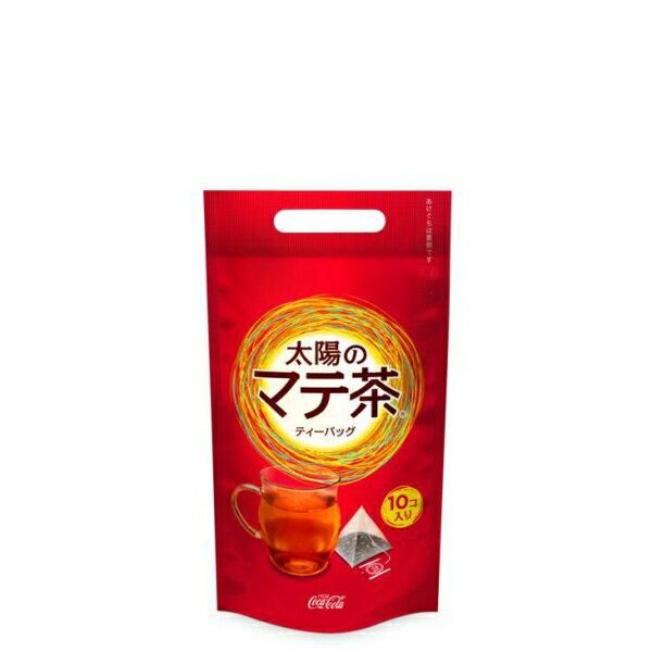 【4ケースセット】太陽のマテ茶情熱ティーバッグ (2.3gティーバック10個入り) 健康 お茶 お得パック 健康 箱 ケース 家庭用 職場:ミルクディーラー