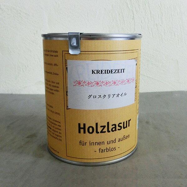 プラネットカラー グロスクリアオイル 0.75L(約15平米/1回塗り)/プラネット/植物性オイル/自然塗料/オイルフィニッシュ