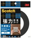 3M(スリーエム) 強力両面テープ外壁面用 (SKB−20) 20×4m