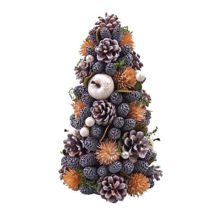 ナチュラルミニクリスマスツリー25cm シトラス【クリスマスツリー/ナチュラルツリー】画像