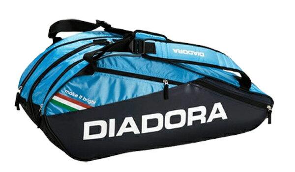 ディアドラ ラケットバッグ6 17SS バッグ DTB7633-6960 (エステートブルー×…