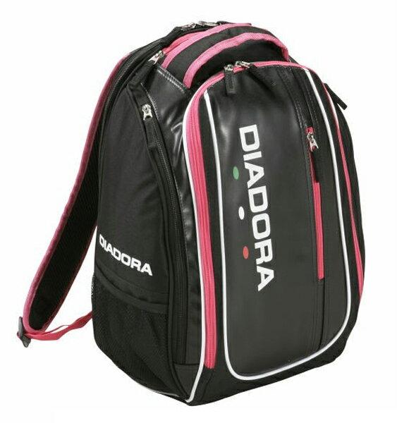 ディアドラ ラケットバッグパック 17SS バッグ DTB7635-9943 (ブラック×ピン…