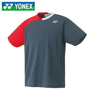 c51cf414e0c54 YONEX ヨネックス バドミントン テニス ソフトテニス ウエア ユニドライTシャツ 16356-075 ユニセックスドライTシャツ  16356(UNI)バドミントン日本代表チームモデル!
