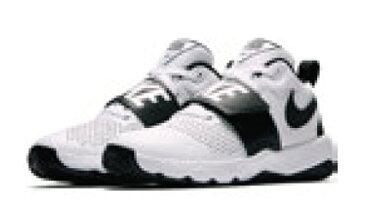 ナイキ Nike ジュニア、キッズ ナイキ チームハッスルD 8 GS 18SP バスケットボールシューズ 881941-100 (ホワイト/ブラック)