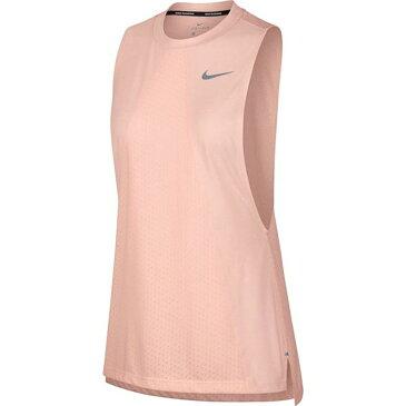 ナイキ Nike ウイメンズ DRI-FITテイルウインドランニングタンクトップ18SU レディースランニングウエア 890983-827 (クリムゾンティント/ヘザー)