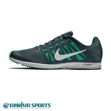 ナイキ Nike エアズーム スピードレーサー6 FA18 メンズランニングシューズ 749360-302 (ディープジャングル/メンタ/ブラック/ホワイト)