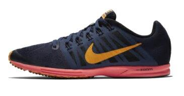 ナイキ Nike ナイキ エアズーム スピードレーサー6 18HO メンズランニングシューズ 749360-400 (ブラッケンドブルー/オレンジピール/ブラック/)